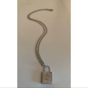 ~SOLD~ Repurposed Louis Vuitton Necklace